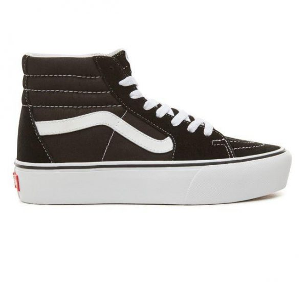 c2f16c8df4e ... Vans Sk8 Hi Platform 2.0 ... online for sale 14aab 6243b  Galleon - Vans  Womens SK8-Hi Platform 2.0 Black True White Sneaker ...