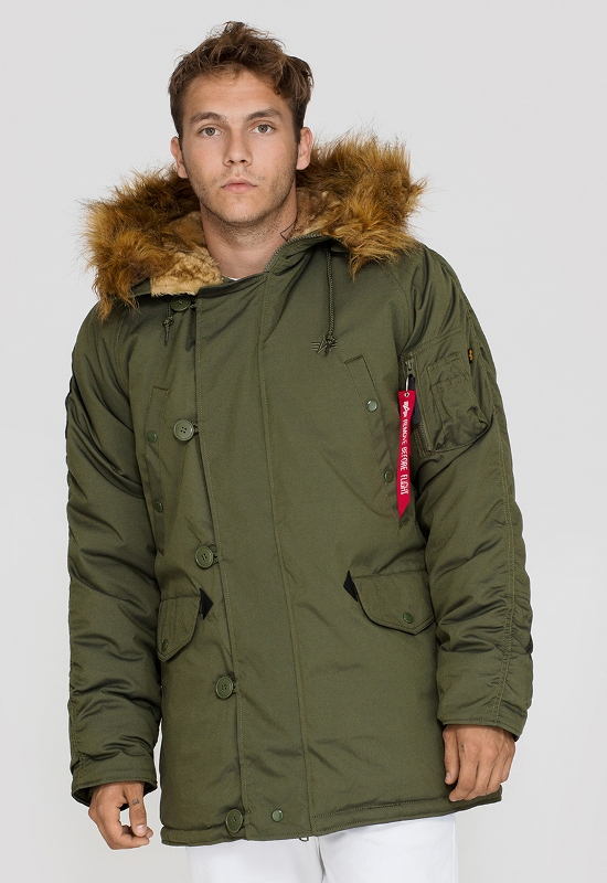 fuerte Declaración Descuido  Alpha Industries Explorer Jacket - Dark Green - Slide Culture