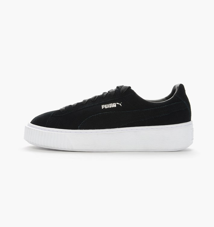 super cheap compares to buy popular finest selection Puma Suede Platform - Black (362223-01)