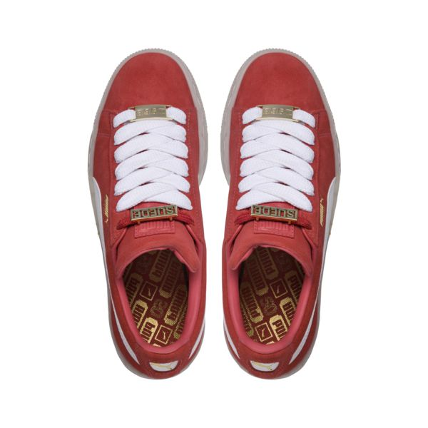 huge selection of 02228 94af8 Puma Suede Classic B-BOY Fabulous - Spiced Coral/White/Red Dahlia  (365559-02)